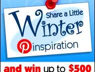 Winter Pinspiration / by Tabitha Mankin