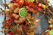 Fall Wreaths and Decor / Decorating for Fall-find wreaths, arrangements and decorating ideas. / by Decorative Matters