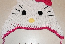 Crochet-adult and children's hats / by Cheryl Keiper