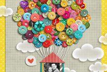 Buttons / by Amy Lowe Mason