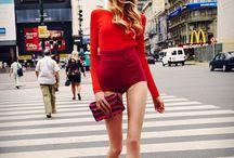 RED hot / Definitiv eine Farbe für Modemutige – doch wer wagt gewinnt: rot sorgt für gute Laune, einen frischen Teint und Instant-Sexappeal ! / by frontlineshop