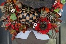 Thanksgiving Wreaths / by Coastal Charm
