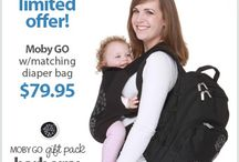 Promo's & Giveaways / by Moby Wrap
