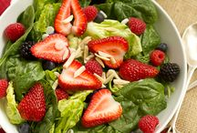 Salad, Salad & more Salad / by Shelley Smith