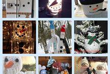 DIY - Winter/snowmen / by Sherry Brumfield-West
