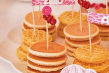 Pancakes & PJs Party Ideas / by Gretchen | Three Little Monkeys Studio