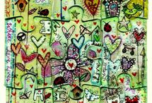 artistic journaling / by Gail Wolfe