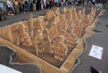 Street & Sidewalk Art / by Lisa Gniech