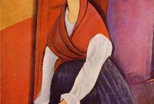 Modigliani ....love love / by Judy Barton