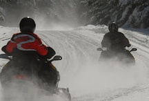 Snowmobiling in Pittsburg NH / by Cabins at Lopstick