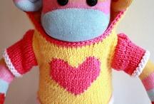 sock monkey mania / by Gretchen Rowe