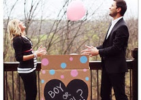 gender reveal for baby b!  / by Kristin B