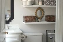 Master Bath Ideas / by Elizabeth Hafner