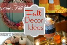 fall decor & treats  / by Tiffany Horton
