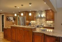 Birch Cabinet Kitchens / by Dream Kitchens-Kitchen and Bathroom remodeling
