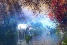 Unicorns and Rainbows / by Tanya Thomas