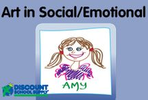 ART in SOCIAL/EMOTIONAL / Explore art products & activities that support social/emotional development. / by Discount School Supply