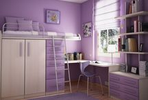 Bedrooms for kids / by Kimberly Hamner