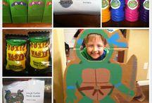 TMNT party ideas / by Erica Fultz