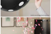 Party-ish Ideas / Ok...have seen too many cute party ideas here lately...and needed a place to put them for memory sake...  From Baby Showers to Gender-Reveal to just good ole backyard party fun!!!   / by Michelle Asbell
