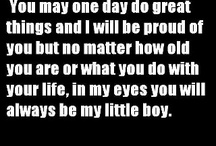 To my Sons / by Marilyn Lisenbee