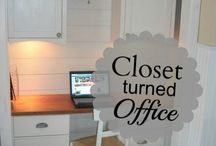 Home Office Designs / by ALilsomething ToRemember