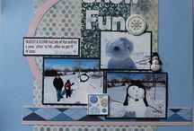 winter scrapbook pages / by Heather Oakes