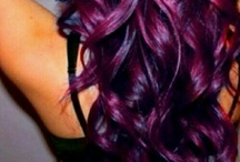 Purple Hair / Board full of my purple hair ideas / by Cleopatra♔ Huff