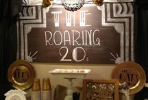 Roaring 20's new years party / by Mondy Rigling