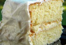 Food-Desserts-Cakes / by Trena Wheatcraft