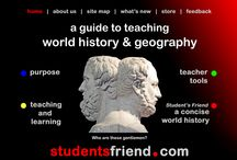 Geography and History of the World / by Cassie Pitman