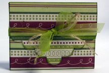 gift card holder / by Stamping with Marsha - Stampin' Up! Demonstrator Marsha Lavoie