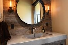 Bathroom inspiration / by Valerie Koester
