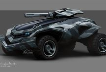 Design - Robots & Vehicles / by Nguyen Sylvain