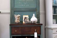 Decor: Repurposed Door Inspirations / Finding new uses for old doors / by Designed Decor