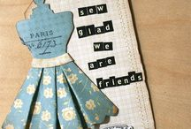 Card & Tag Ideas / Let's get those scissors & paper out and start creating! / by Edie Marie