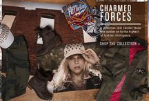 Charmed Forces / Featuring military inspired looks, this collection is a force all it's own! / by Buckle