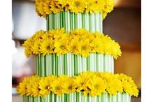 Cakes & Flowers / by MyFavoriteFlowers.com Olga Goddard