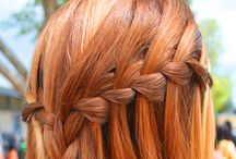 hairstyles / by Stephanie Fawcett