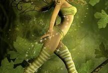 Fairies!✨ / Creation / by Gloria Sato