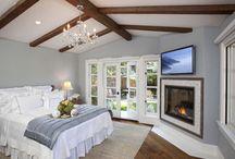 Bedrooms / by Bridget Henny-Fortier
