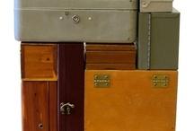 Boxes en suitcases / by Anneke van Bostelen