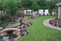 Garden ideas / by Dianna Kunze