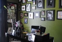 Ideas for my office / by Kimberly Mills
