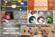 K - Math Activities / by Sherri Lee