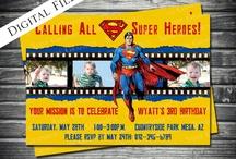 Superheroes / by Gareth Dickson