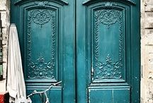 door porn / Call it a fetish. Call it what you will. I love photos of doors! / by skye zambrana // skye z designs