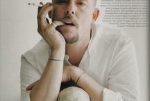 Alexander McQueen / British Fashion Designer, Alexander McQueen....GENIUS! / by Gina Cuevas