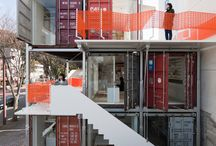 Container Home / House / by Kristoforus Watodey