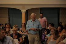 Courses in Alonissos! / George Vithoulkas teaching in Alonissos! / by International Academy of Classical Homeopathy